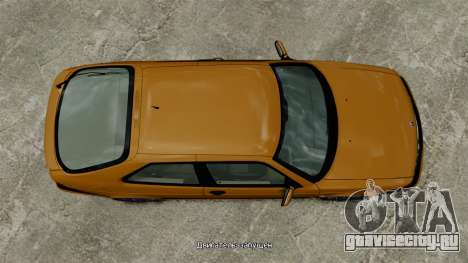 Saab 9-3 Aero Coupe 2002 для GTA 4 вид справа
