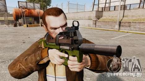 Бельгийский пистолет-пулемёт FN P90 v2 для GTA 4 третий скриншот