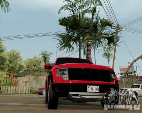 Ford F-150 SVT Raptor 2011 для GTA San Andreas