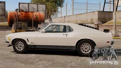 Ford Mustang Mach 1 Twister Special для GTA 4 вид слева