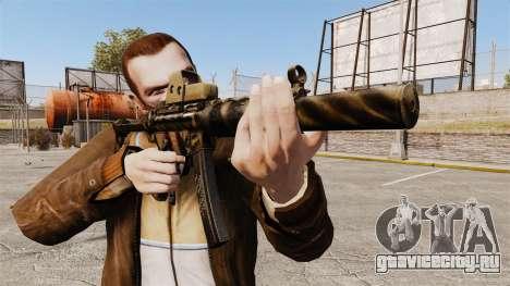 Пистолет-пулемёт MP5SD v4 для GTA 4 третий скриншот