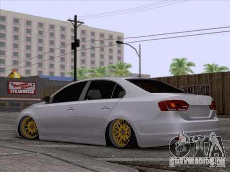 Volkswagen Jetta Rasta для GTA San Andreas вид слева
