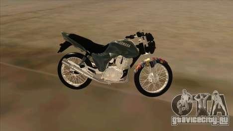 Yamaha YBR для GTA San Andreas вид слева