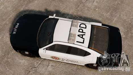 Полицейский Buffalo LAPD v2 для GTA 4 вид справа