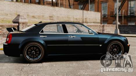 Chrysler 300C Pimped для GTA 4 вид слева