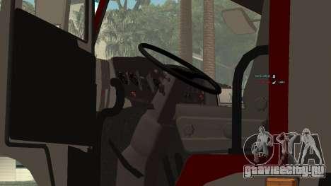 КамАЗ 5245 МЧС для GTA San Andreas вид справа