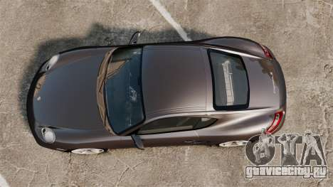 Porsche Cayman S для GTA 4 вид справа