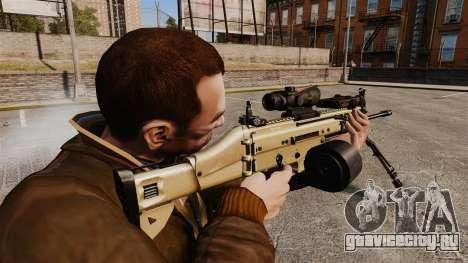 Штурмовой автомат FN SCAR-L для GTA 4 второй скриншот
