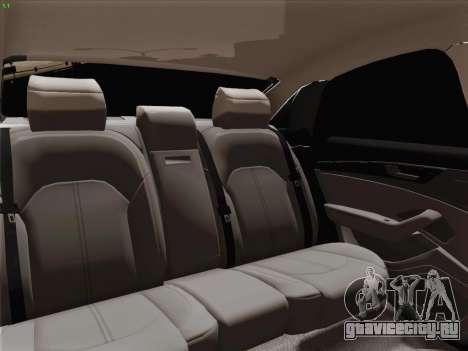 Аudi A8 Лимузин для GTA San Andreas колёса