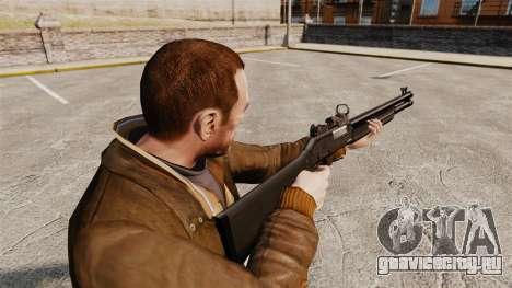 Тактический дробовик Fabarm SDASS Pro Forces v3 для GTA 4 второй скриншот