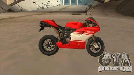 Ducatti Desmosedici RR 2012 для GTA San Andreas вид слева