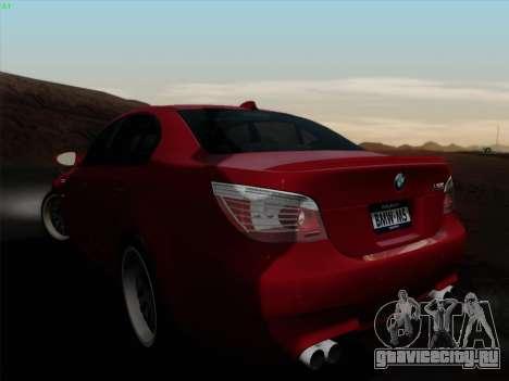 BMW M5 Hamann для GTA San Andreas вид слева