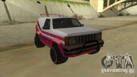 Sandking DUB для GTA San Andreas вид слева