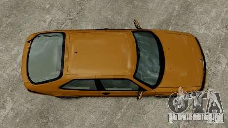 Saab 9-3 Aero Coupe 2002 для GTA 4 вид сзади