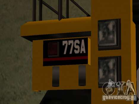 Новый Dumper для GTA San Andreas вид сзади слева