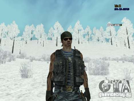 Спецназовец для GTA San Andreas четвёртый скриншот