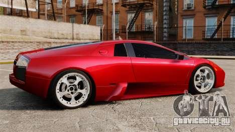 Lamborghini Murcielago 2005 для GTA 4 вид слева
