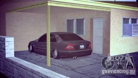Mercedes-Benz C32 AMG для GTA San Andreas вид справа