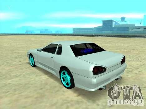 Drift elegy by KaMuKaD3e для GTA San Andreas вид сзади слева