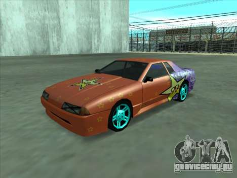 Drift elegy by KaMuKaD3e для GTA San Andreas вид сверху