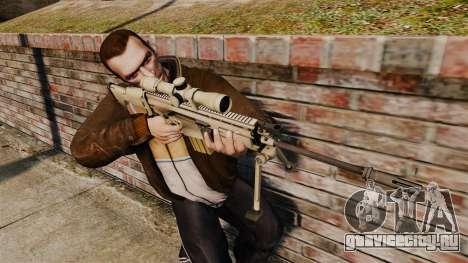 Mk17 SCAR-H для GTA 4 третий скриншот