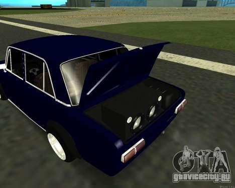 ВАЗ 2101 Baby v3 для GTA San Andreas вид изнутри