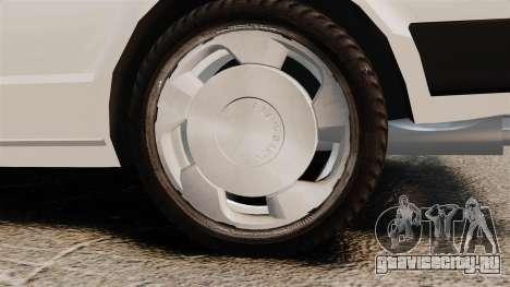 Volkswagen Passat TS 1981 для GTA 4 вид сзади