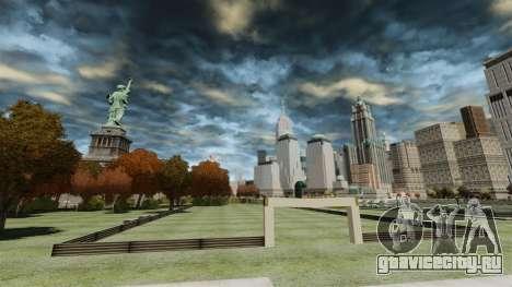Футбольное поле для GTA 4