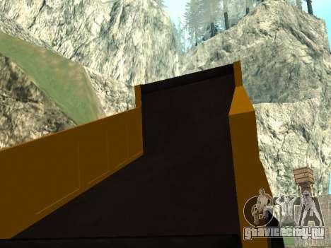 Новый Dumper для GTA San Andreas вид сверху