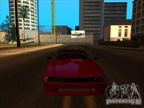Elegy pickup by KaMuKaD3e для GTA San Andreas вид изнутри