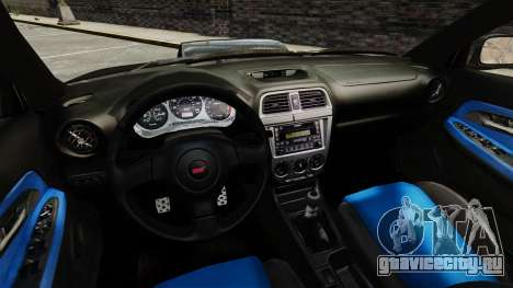 Subaru Impreza 2005 DTD Tuned для GTA 4 вид сбоку