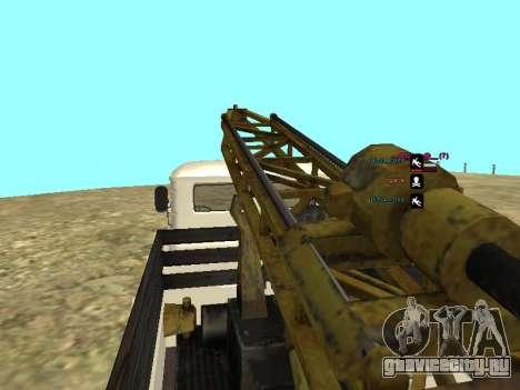 Газ 66 Буровая для GTA San Andreas вид снизу