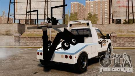 Ford F-550 Towtruck Rapid Towing [ELS] для GTA 4 вид сзади слева