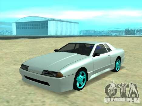 Drift elegy by KaMuKaD3e для GTA San Andreas вид слева