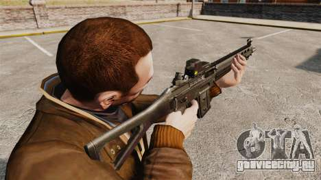 Штурмовая винтовка SIG 551 для GTA 4 второй скриншот