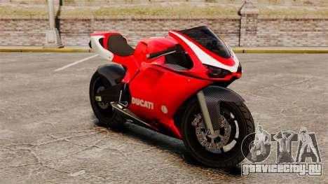 Ducati 1098 для GTA 4 вид слева