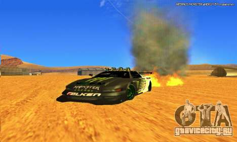 Infernus Rally Moster Energy 2012 для GTA San Andreas