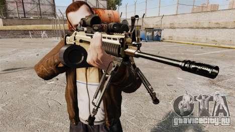 Штурмовой автомат FN SCAR-L для GTA 4 третий скриншот