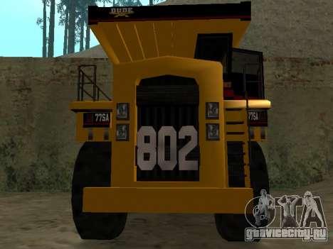 Новый Dumper для GTA San Andreas вид слева