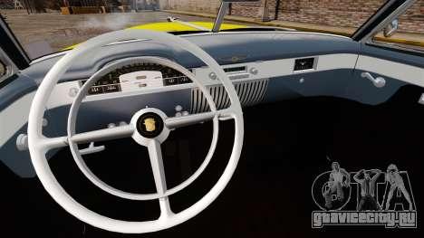 Cadillac Series 62 convertible 1949 [EPM] v2 для GTA 4 вид изнутри