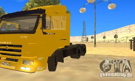 КамАЗ 65116 для GTA San Andreas вид сзади