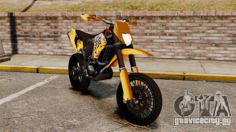 KTM EXC 450 SuperMotard для GTA 4