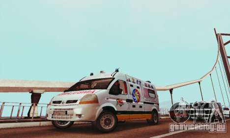 Renault Master PCSO AMBULANCE для GTA San Andreas