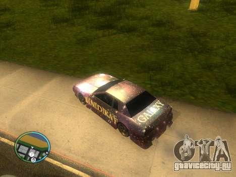 Винил для Elegy для GTA San Andreas вид слева