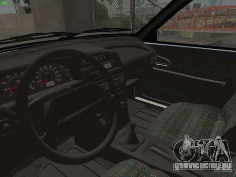 ВАЗ 2114 для GTA San Andreas салон