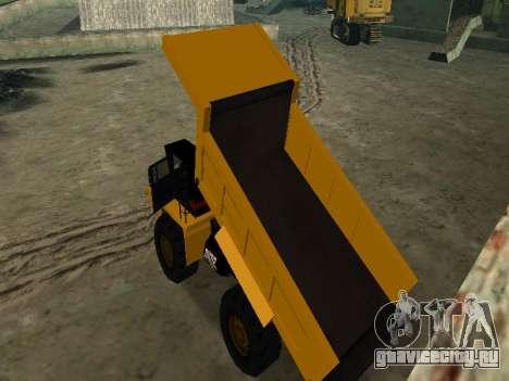 Новый Dumper для GTA San Andreas салон