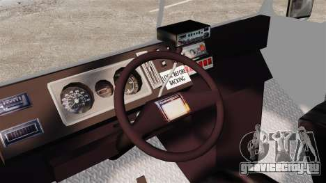 Chevrolet Step-Van 1985 LCPD для GTA 4 вид сзади