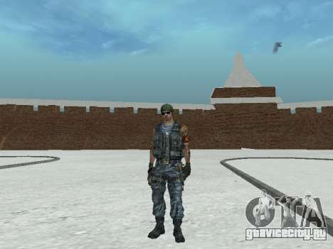 Спецназовец для GTA San Andreas шестой скриншот