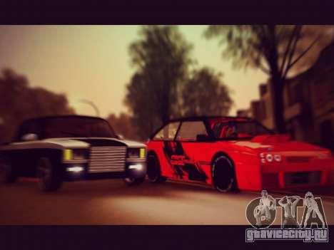 ВАЗ 21093 Devil для GTA San Andreas вид справа