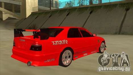 Toyota Chaser JZX100 DriftMuscle для GTA San Andreas вид справа